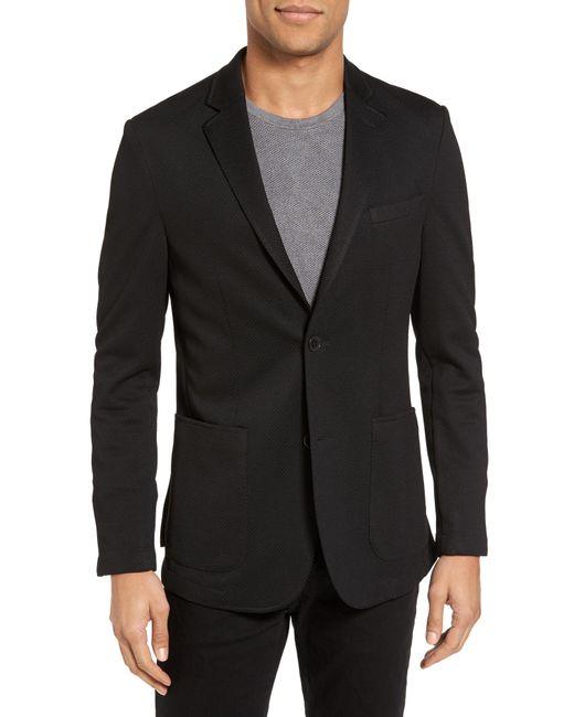 Vince Camuto - Black Slim Fit Stretch Knit Sport Coat for Men - Lyst