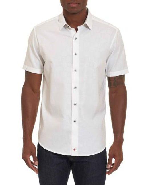Robert Graham | White Cullen Regular Fit Sport Shirt for Men | Lyst