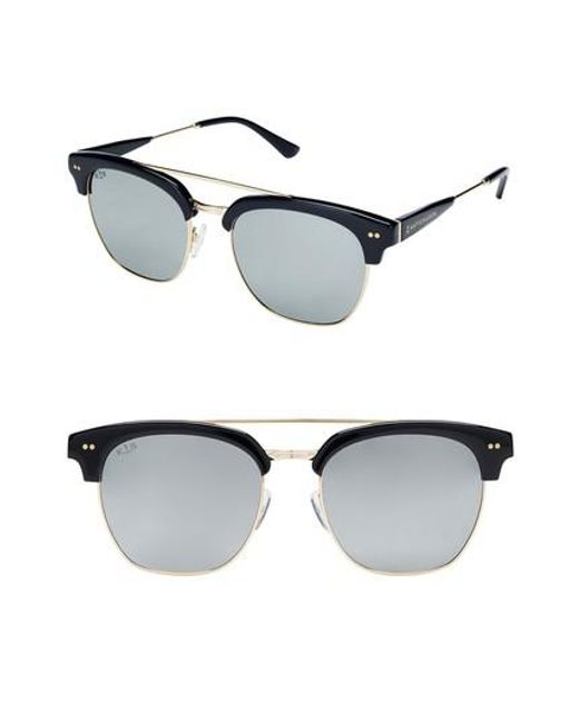 KAPTEN & SON - Metallic Havana 50mm Sunglasses - Lyst