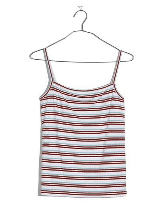 Madewell - Multicolor Square Neck Tank - Lyst