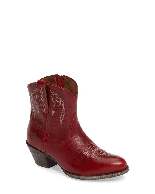 Ariat - Red Darlin Short Western Boot - Lyst