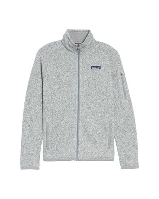 Patagonia - Gray 'better Sweater' Jacket - Lyst