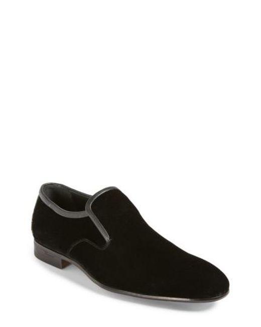 Ferragamo | Black Delroy Venetian Loafer for Men | Lyst