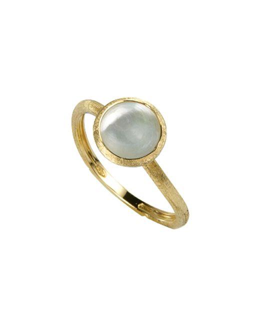 Marco Bicego - Metallic 'jaipur' Tourmaline & Pave Diamond Stackable Ring - Lyst