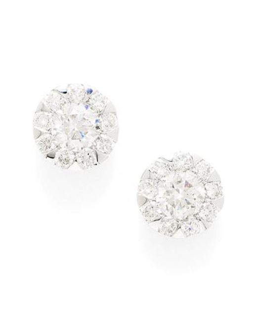 Kwiat - Metallic 'sunburst' Diamond Stud Earrings - Lyst