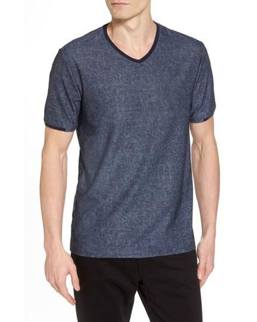 Buy Online With Paypal Cheap Purchase Vince Camuto Slim Fit V-Neck T-Shirt Discount Best Store To Get Classic Cheap Price rXqhbxNQLq
