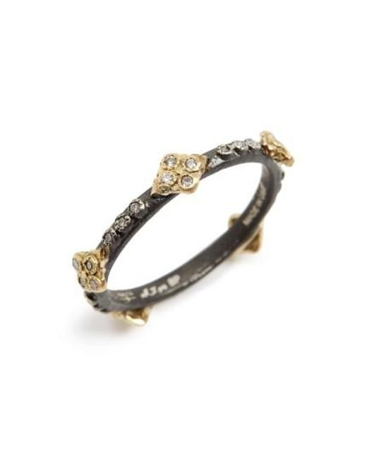 Armenta Old World Multi-Crivelli Stacking Ring iZ7iMvOFrg