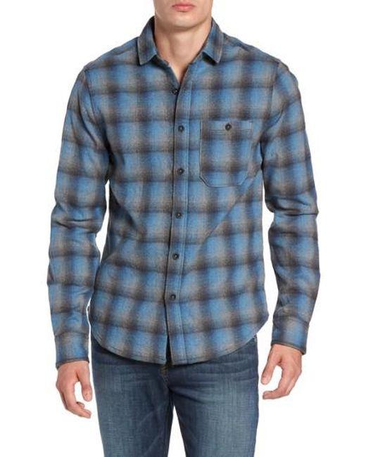 Jeremiah | Blue Delta Regular Fit Brushed Crepe Sport Shirt for Men | Lyst
