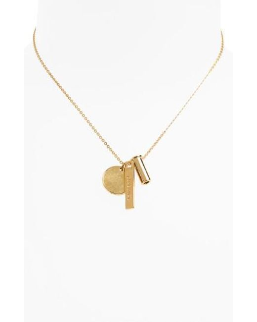 Half United | Metallic Vine Necklace | Lyst