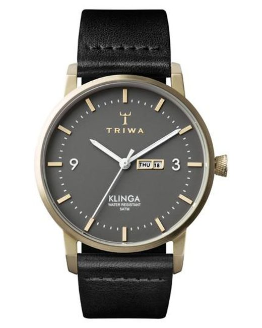 Triwa - Metallic Ash Klinga Leather Strap Watch for Men - Lyst