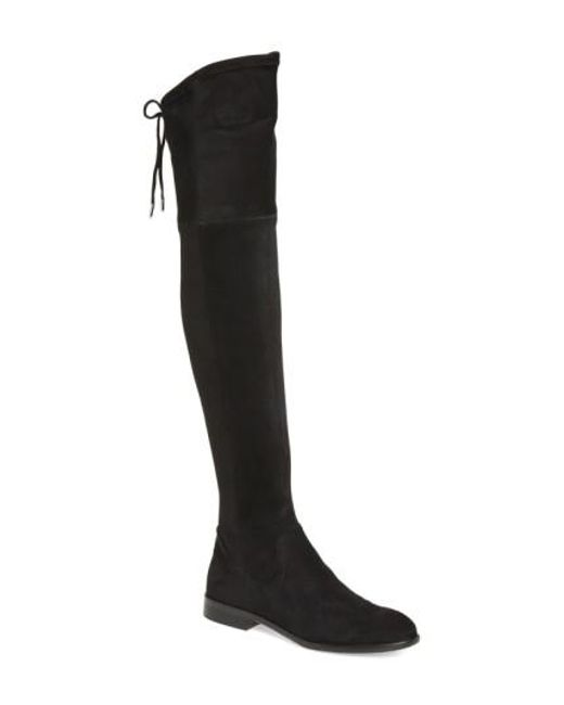 Dolce Vita | Black 'neely' Over The Knee Boot | Lyst