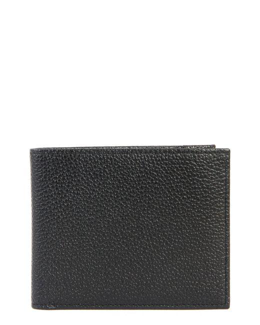 Boconi - Black Garth Leather Bifold Wallet for Men - Lyst