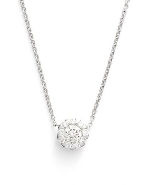 Kwiat - Metallic 'sunburst' Diamond Pendant Necklace - Lyst