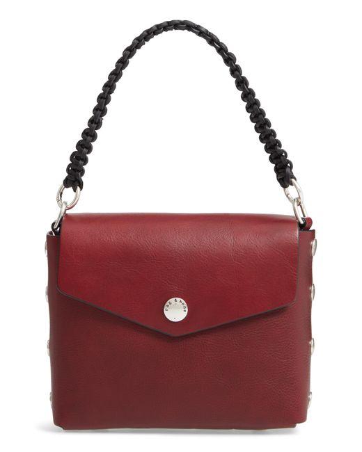 Rag & Bone - Blue Atlas Concept Leather Shoulder Bag - - Lyst
