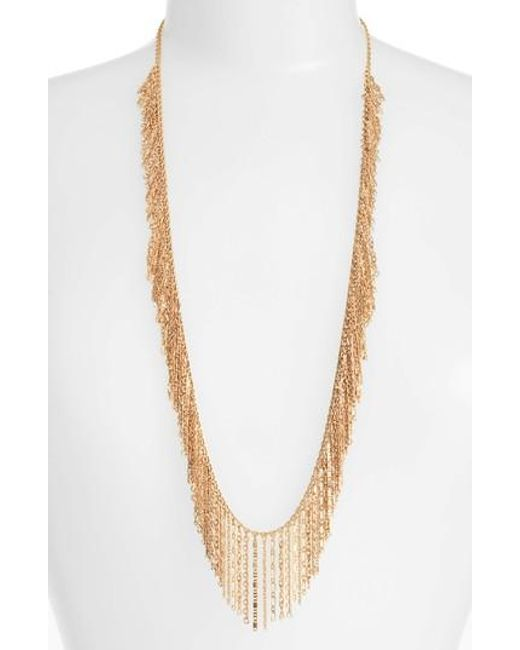 Treasure & Bond   Metallic Long Link Necklace   Lyst