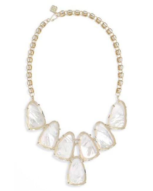 Kendra Scott - Metallic Harlow Necklace - Lyst