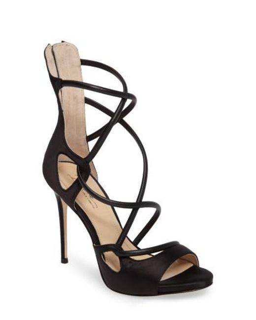 Imagine Vince Camuto | Black Dalle Sandal | Lyst