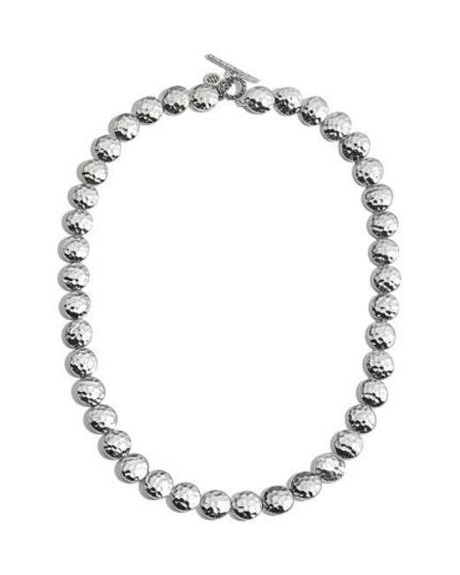 John Hardy | Metallic Hammered Link Necklace | Lyst