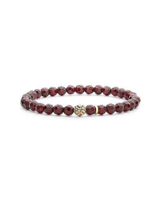 Lagos - Multicolor 'caviar Icon' Semiprecious Stone Bracelet - Lyst