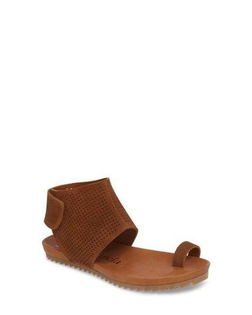 Pedro Garcia - Brown Verena Ankle Cuff Sandal - Lyst