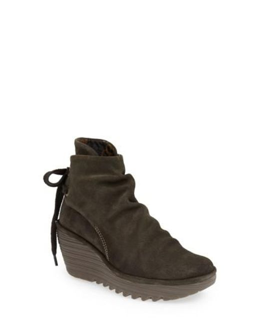 Fly London - Brown 'yama' Bootie - Lyst