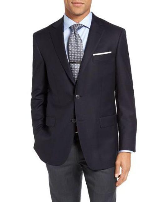 Hart Schaffner Marx   Blue New York Classic Fit Wool Blend Blazer for Men   Lyst