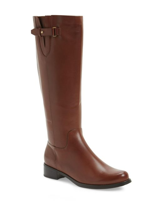 Blondo - Brown Volly Waterproof Riding Boot - Lyst