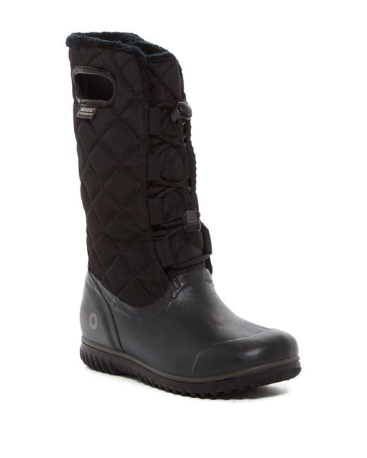 Bogs - Black Juno Tall Waterproof Boot - Lyst