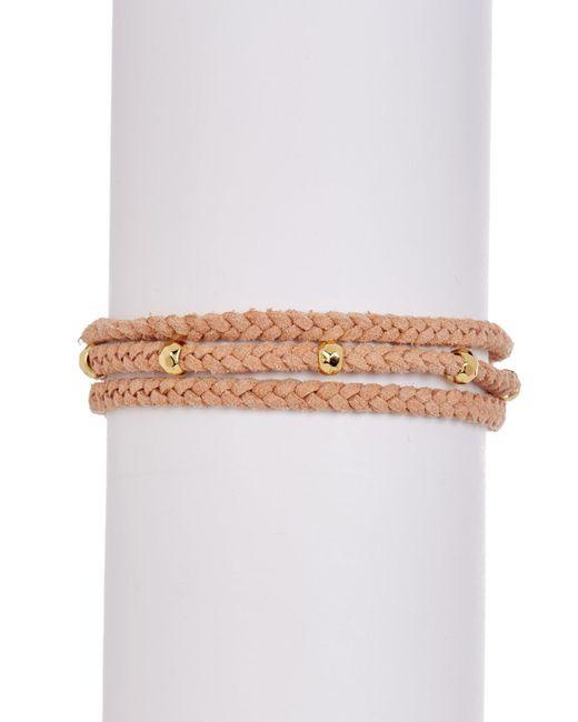 Gorjana | Multicolor Miller Tassel Accented Beaded Bracelet | Lyst