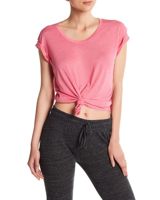 Alternative Apparel | Pink Kimber Short Sleeve Tee | Lyst