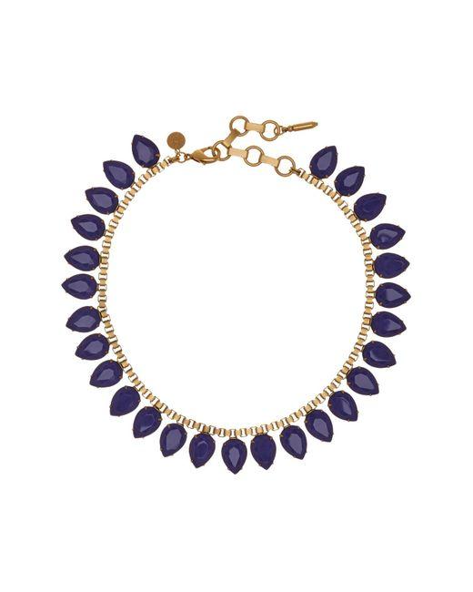 Loren Hope   Multicolor Sylvia Prong Set Faceted Teardrop Stone Necklace   Lyst