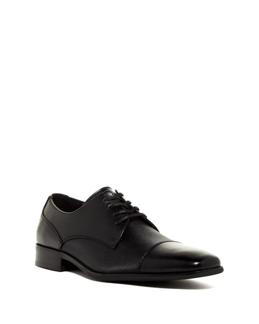 Calvin Klein - Black Gilray Leather Derby for Men - Lyst