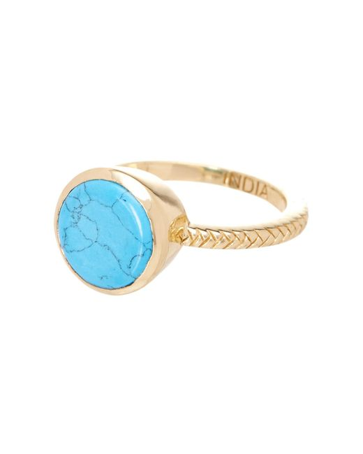 Cole Haan | Multicolor Round Stone Ring | Lyst