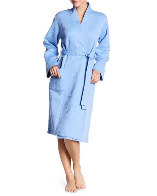 Natori | Blue Quilted Robe | Lyst