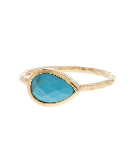 Melinda Maria - Metallic Nell Turquoise Ring - Lyst
