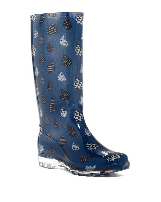 TOMS   Blue Cabrilla Rain Boot   Lyst