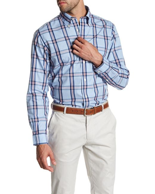 Brooks Brothers | Blue Regent Plaid Original Fit Shirt for Men | Lyst