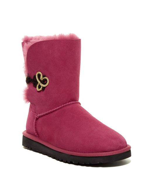Ugg | Multicolor Bailey Button Ii Boots | Lyst