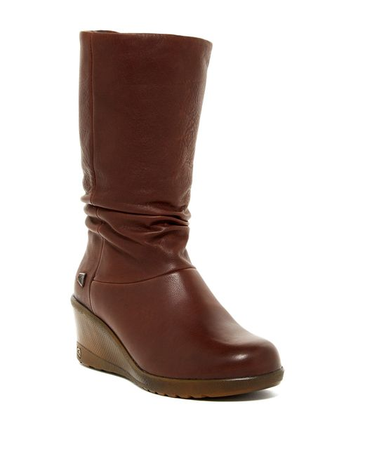 Keen | Brown Kate Slouch Boot | Lyst