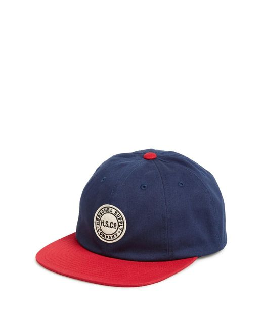 Herschel Supply Co. | Blue Glenwood Ball Cap for Men | Lyst