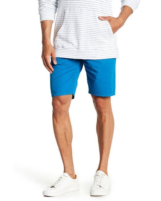 Velvet By Graham & Spencer - Blue Chino Shorts for Men - Lyst