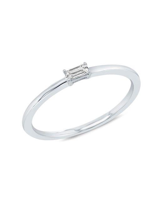 Ron Hami - Metallic 14k White Gold Baguette Diamond Band Ring - 0.07 Ctw - Size 7 - Lyst