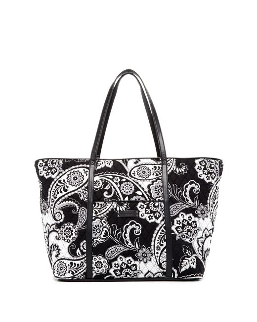 Vera Bradley   Blue Trimmed Vera Traveler Bag   Lyst