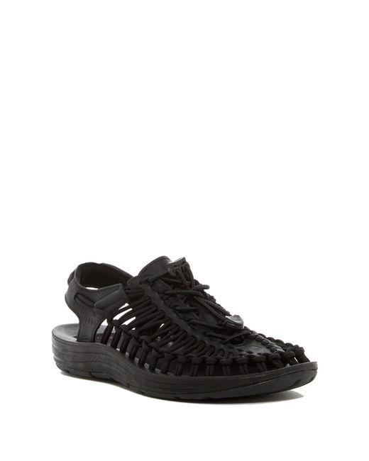 Keen | Black Uneek Woven Sandal | Lyst