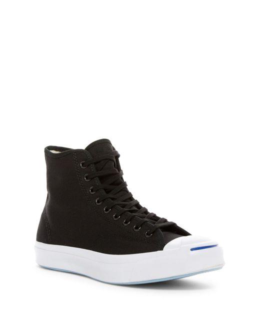 Converse | Black Jack Purcell Signature Hi-top Sneaker (men) for Men | Lyst