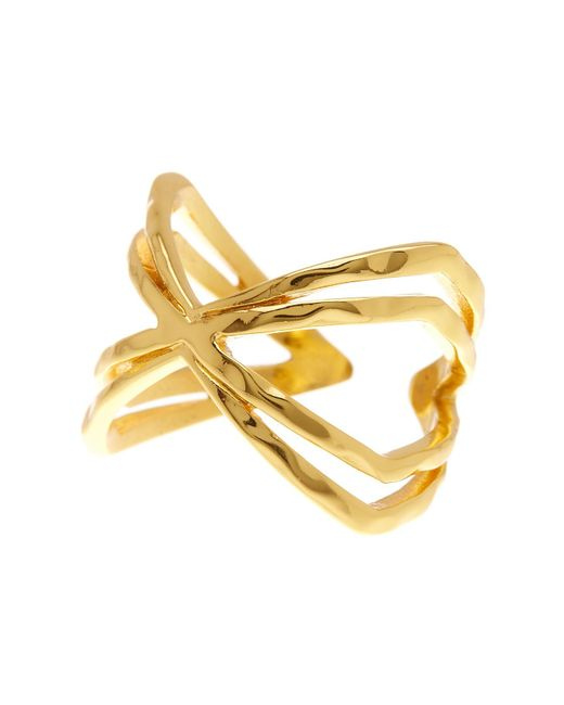 Gorjana | Metallic Skyler Cuff Ring - Size 8 | Lyst