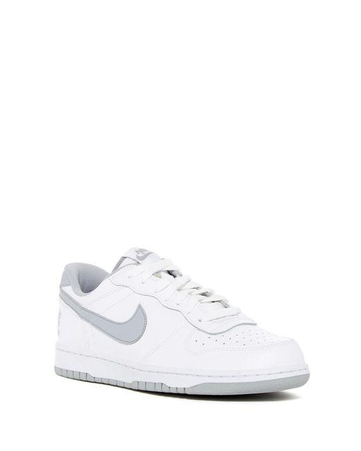 Nike | White Big Low Sneaker for Men | Lyst