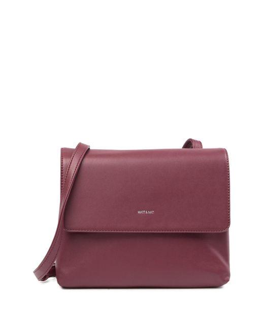 Matt & Nat - Purple Wapi Vegan Leather Crossbody Bag - Lyst