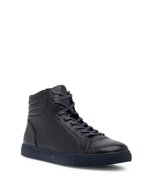 Zanzara - Blue Youse Leather High-top Sneaker for Men - Lyst