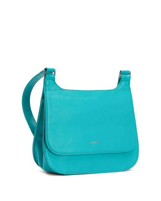 Matt & Nat - Blue Luna Vegan Leather Saddle Bag - Lyst